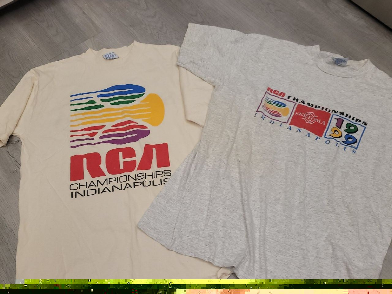 Vintage 1999 Indianapolis tennis t-shirt