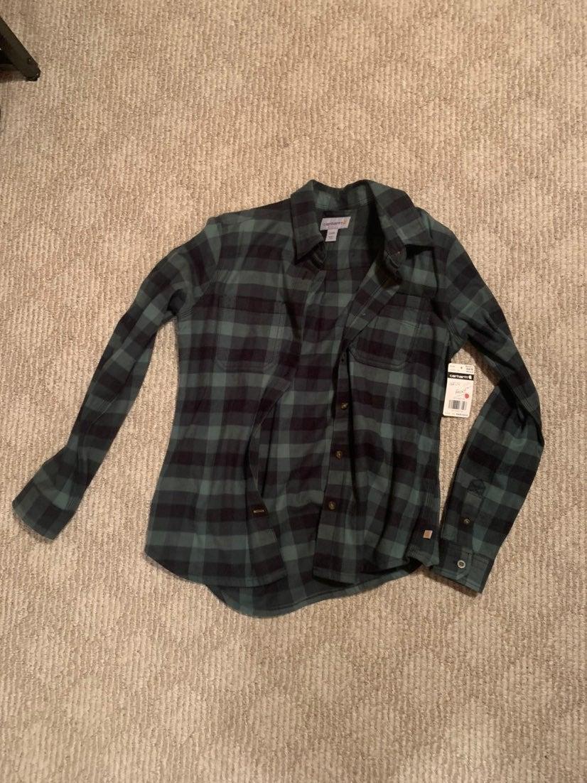 NWT Carhartt Flannel Shirt