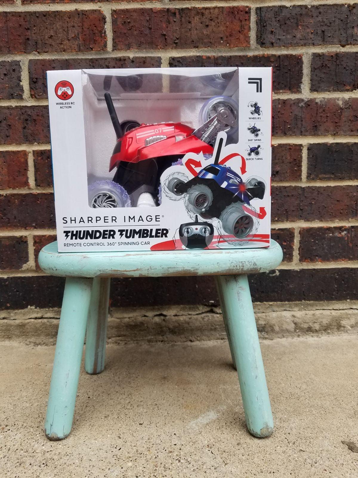 Thunder 360 Spinning RC Car Sharper Imag