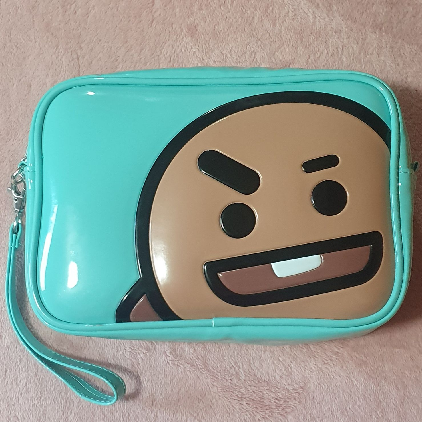 Shooky Cosmetic Travel Bag Official BT21
