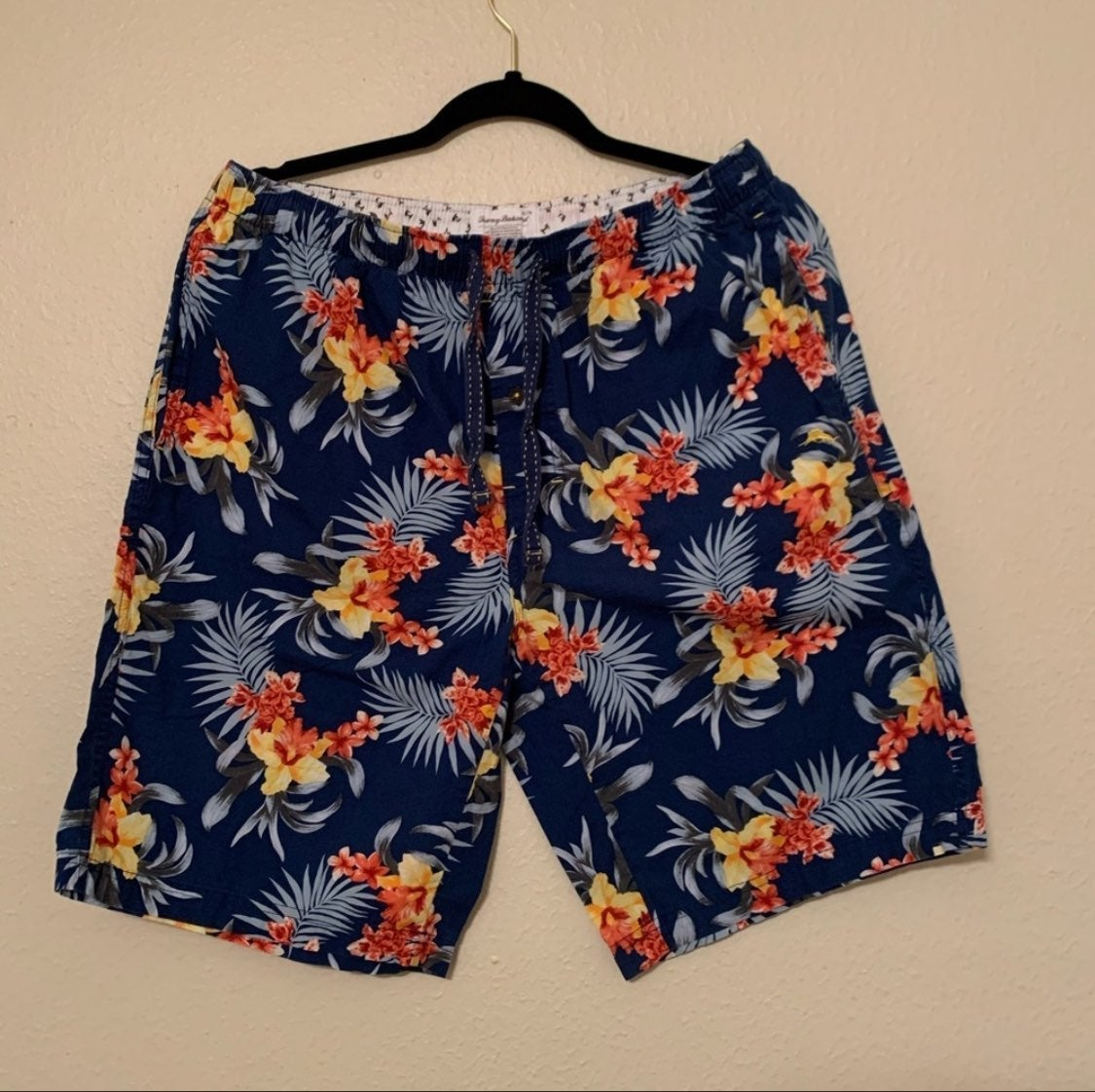 Tommy Bahama blue floral board shorts