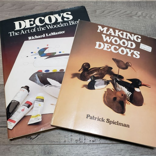 Duck Decoy Wood Carving Books