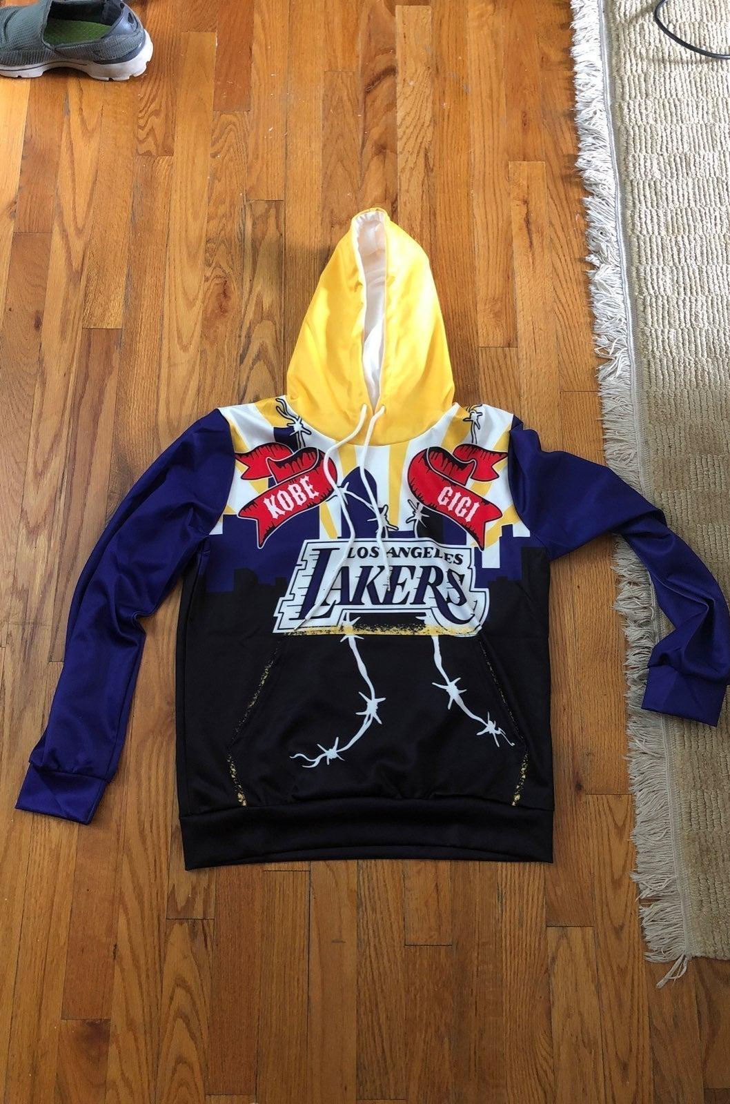 Kobe Bryant Gigi Bryant Lakers Hoodie S