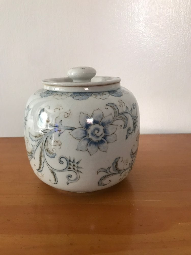 Japanese Jar with Lid