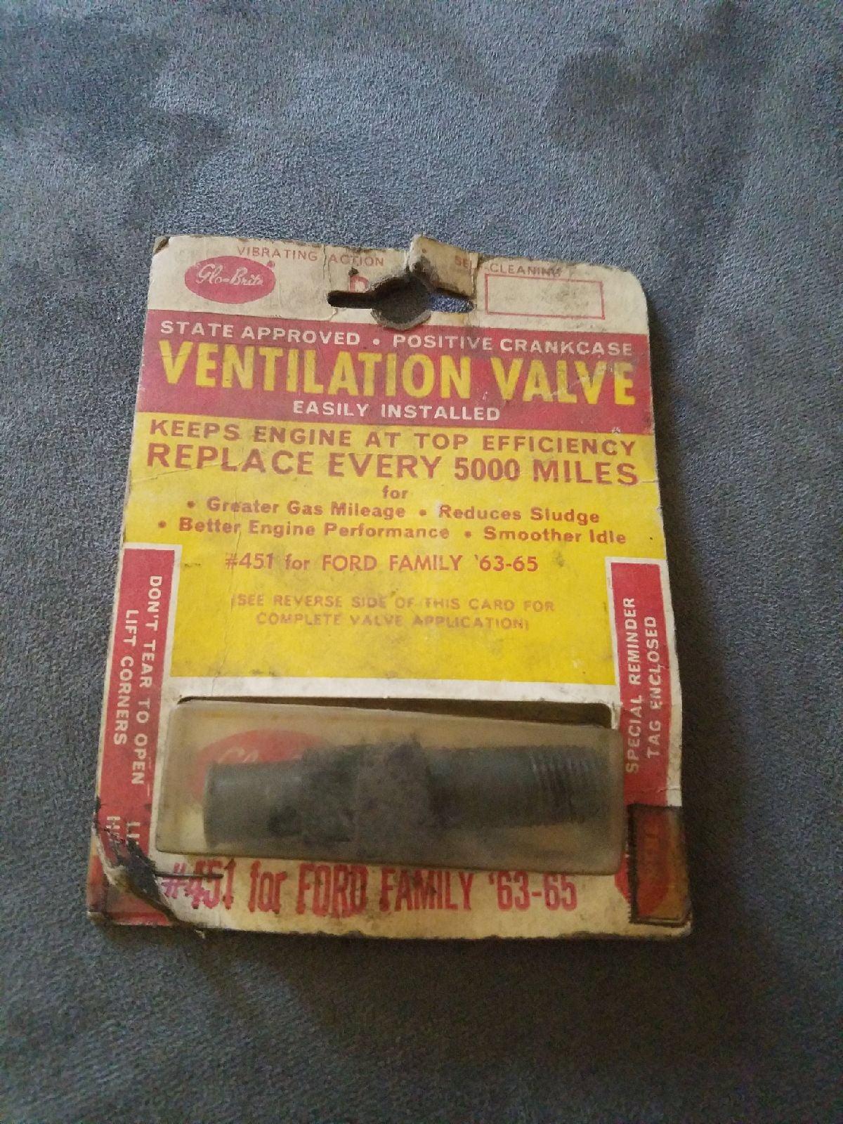 Vintage positive crankcase ventilation v