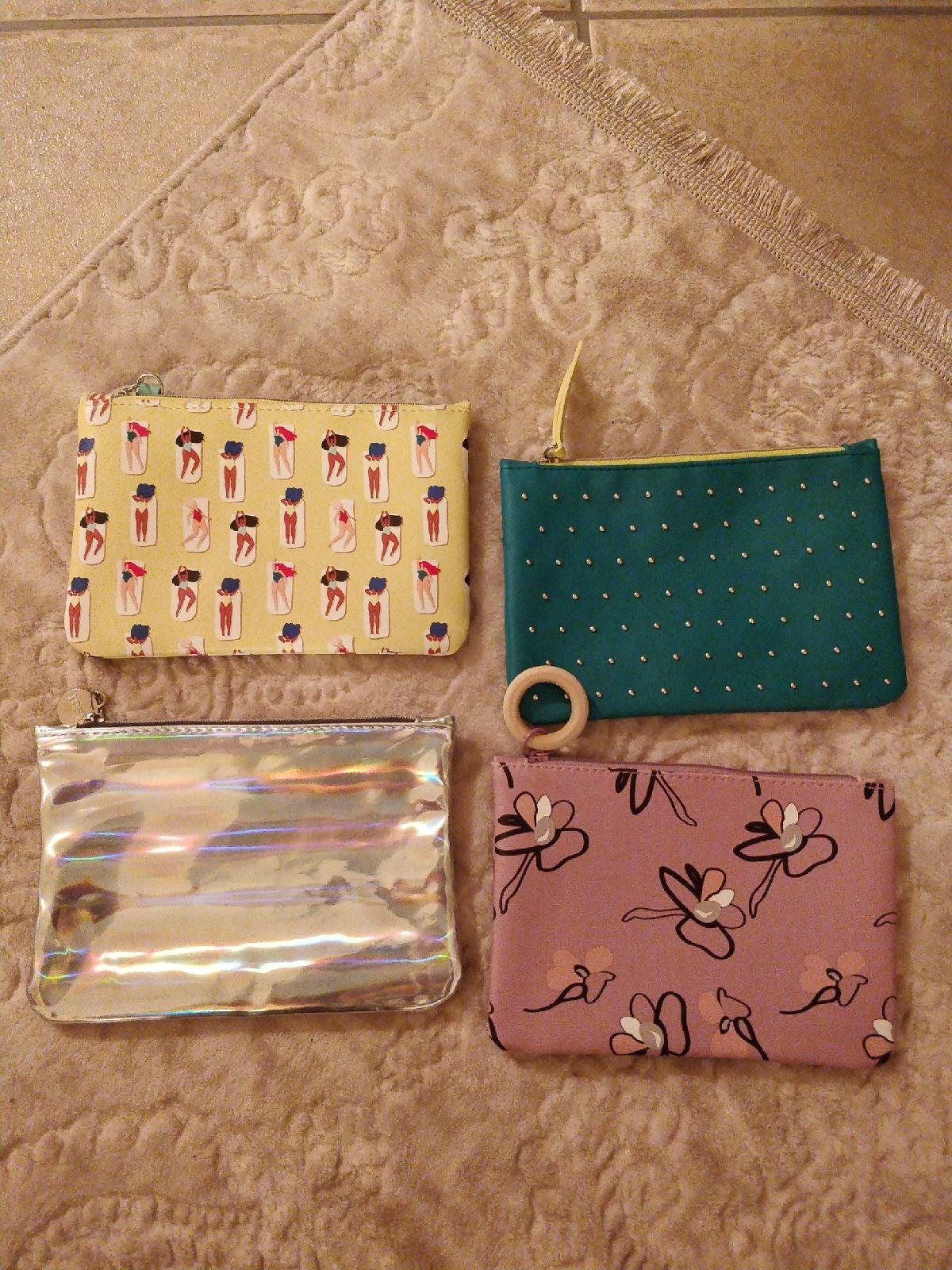 4 beautiful ipsy makeup bags