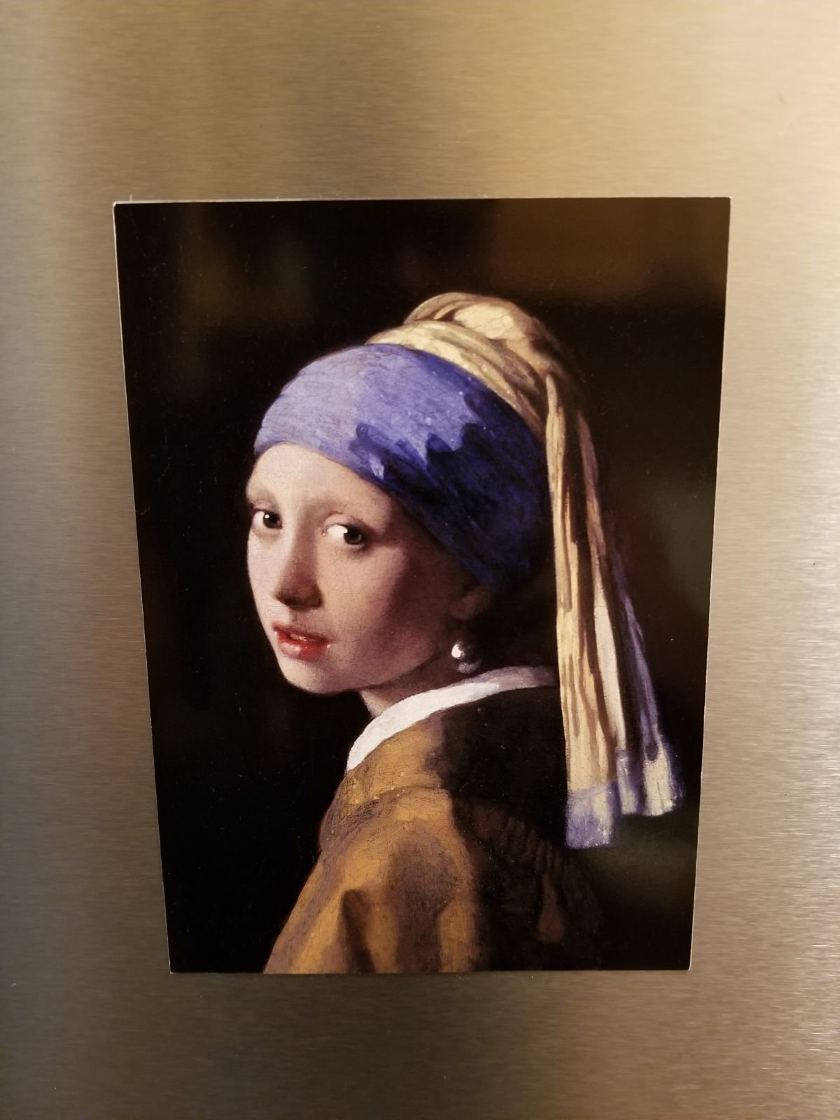 Girl With Pearl Earing magnetic picture