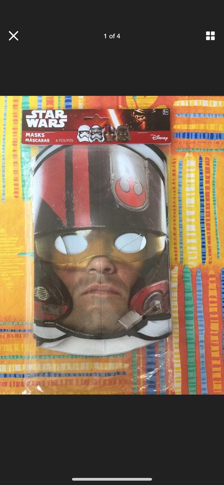 Star Wars™ Episode VII Paper Masks