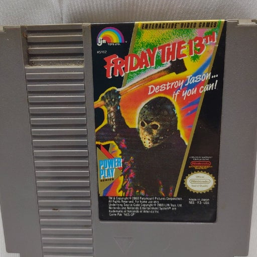 Friday the 13th on Nintendo