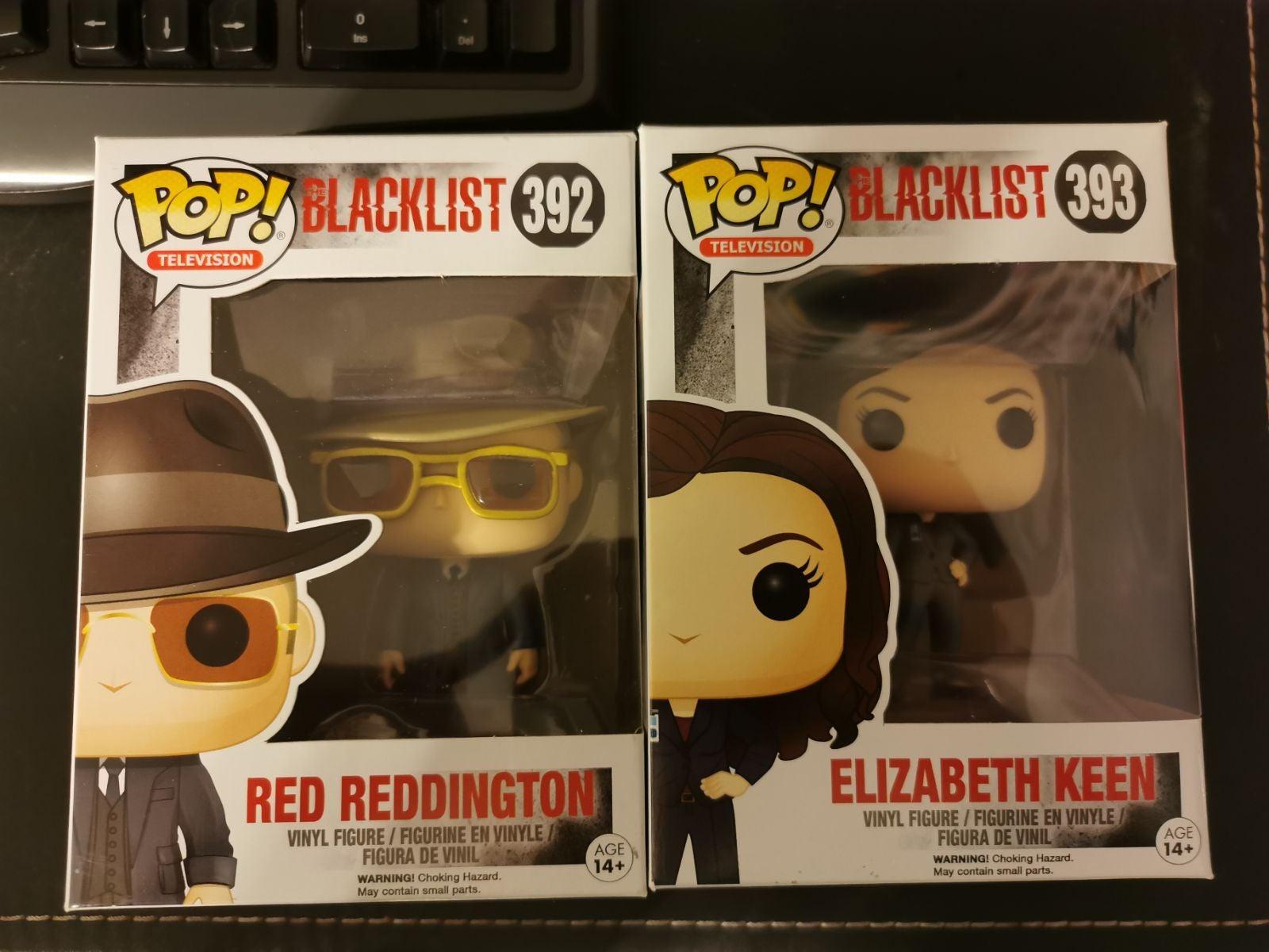 Funko Pop blacklist red reddington and E