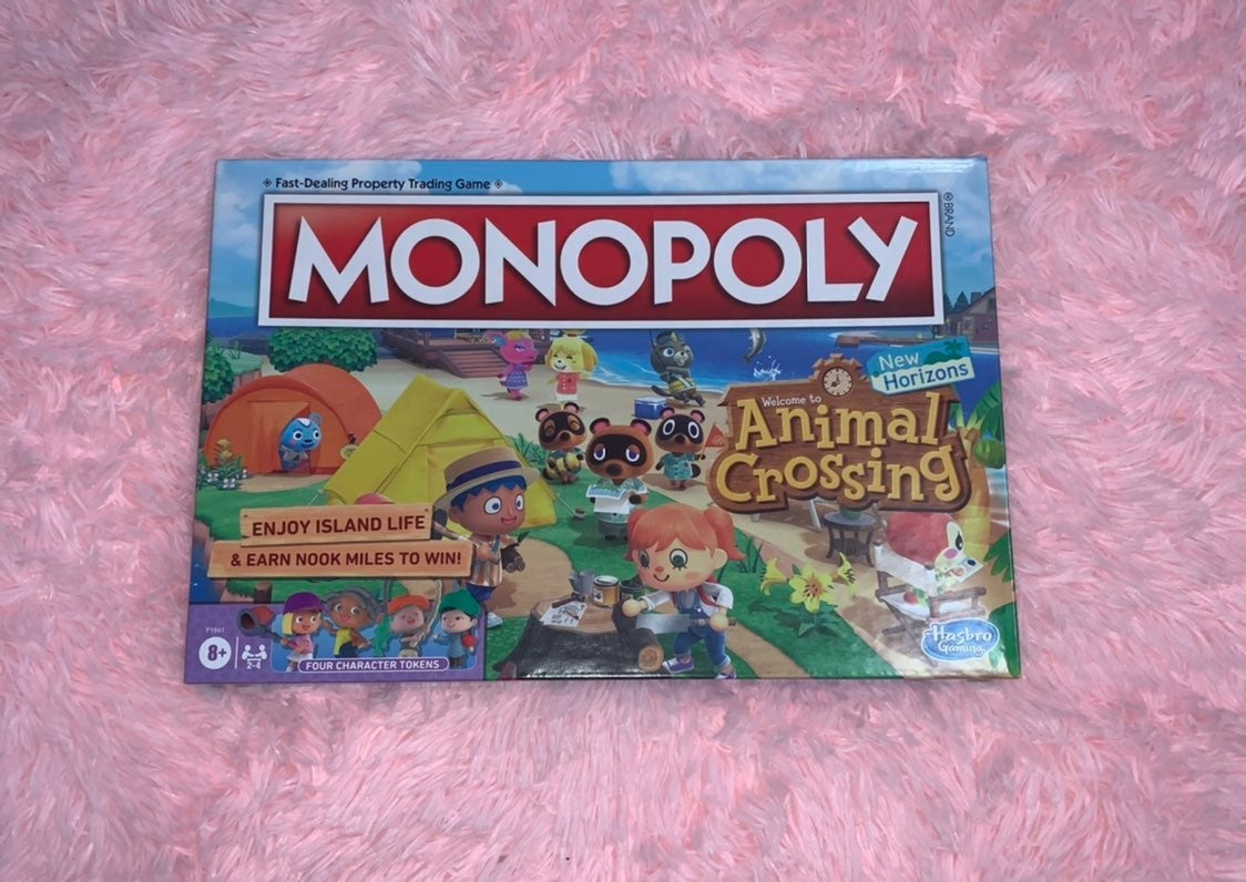Animal Crossing Monopoly (Fast Shipping)