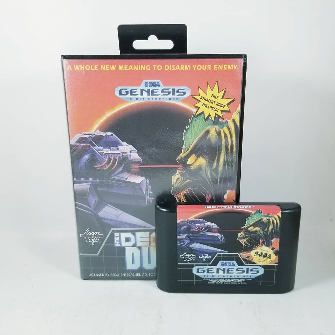 Death Duel - Sega Genesis