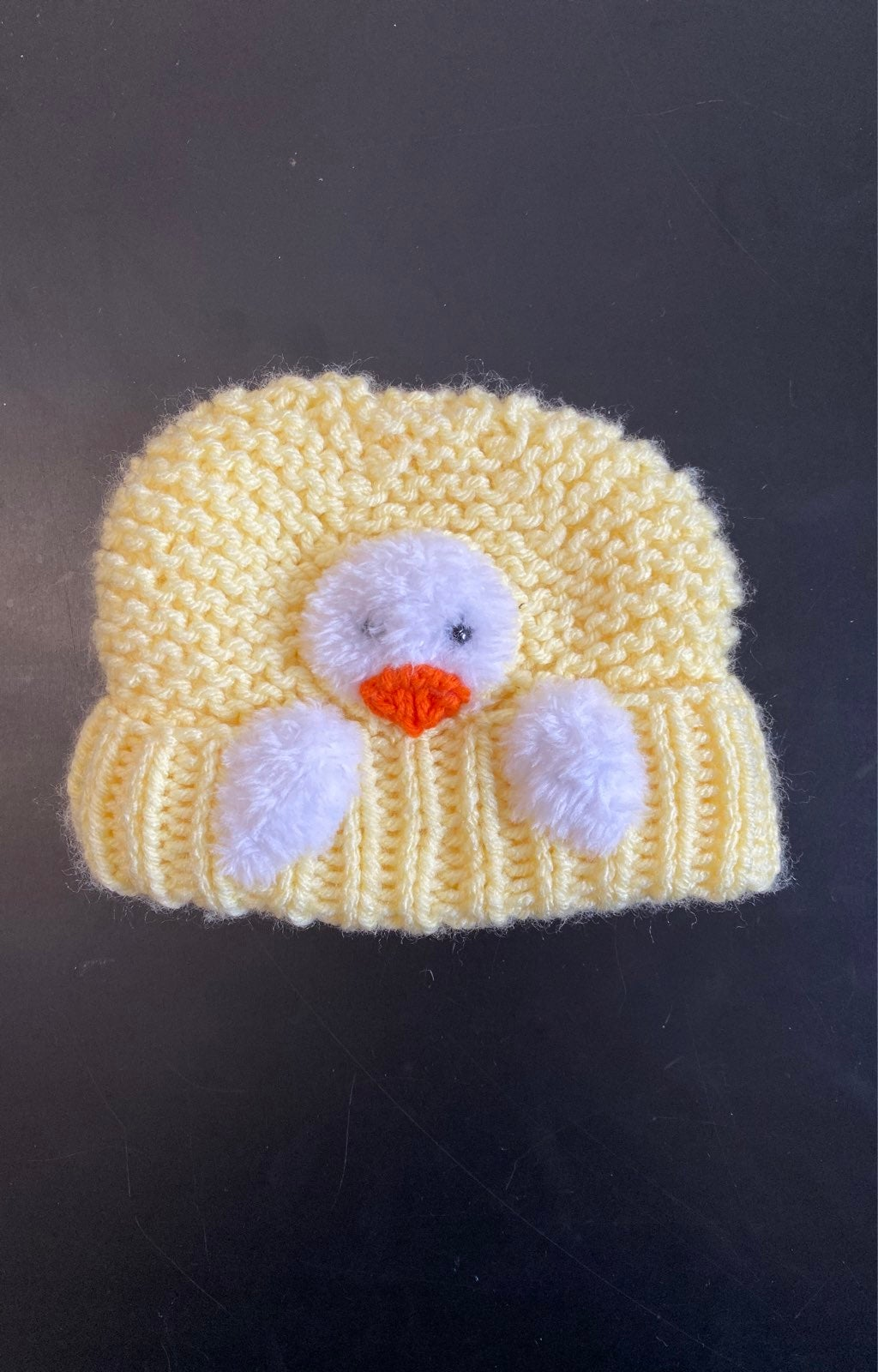 Handmade toddler size hat