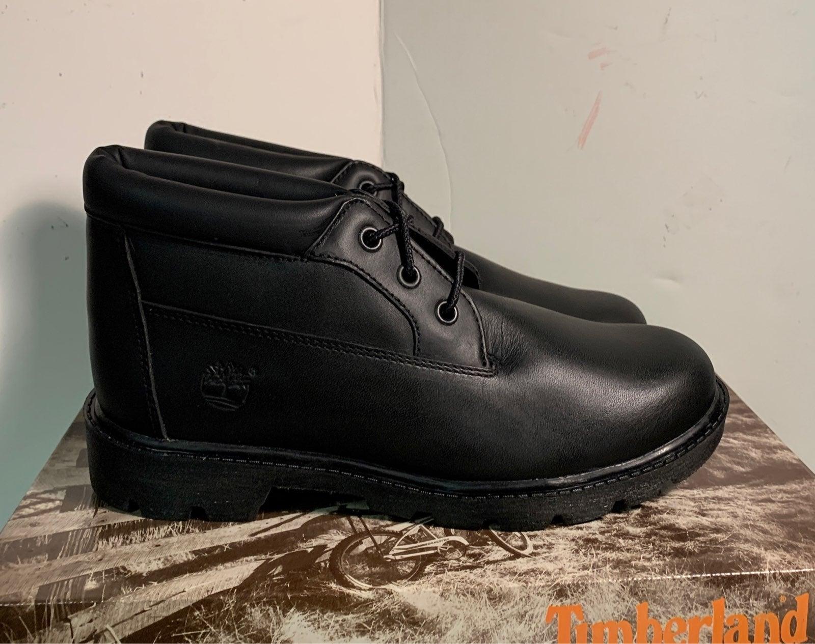 Timberland Juniors Boots Chukka Black