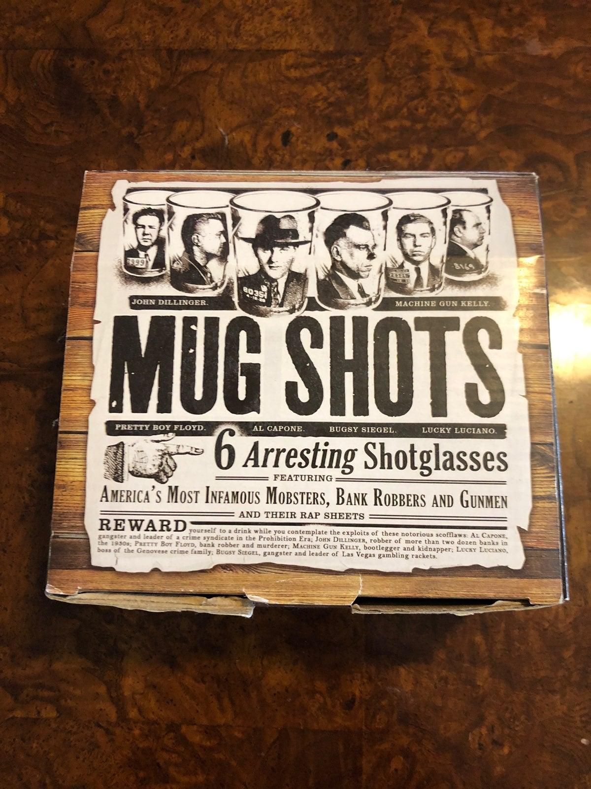 Mug Shots Shot glass Set Of 6