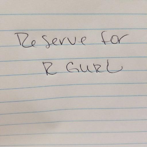 Reserve Bundle for R GURL