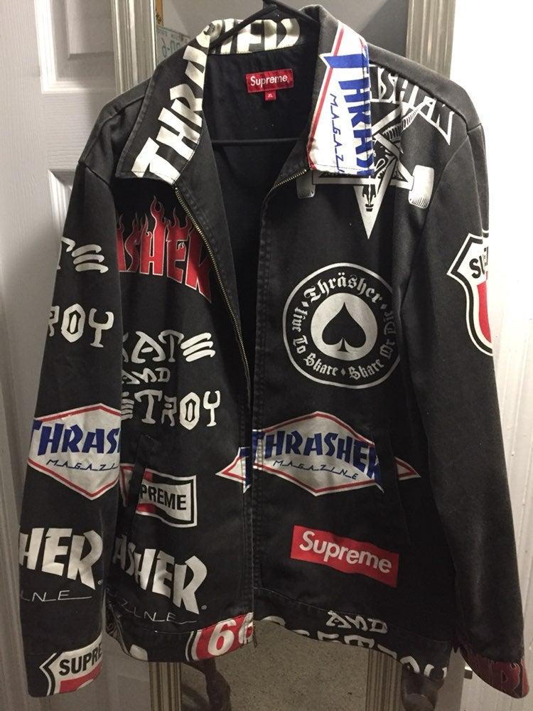 Supreme x Thrasher Jacket