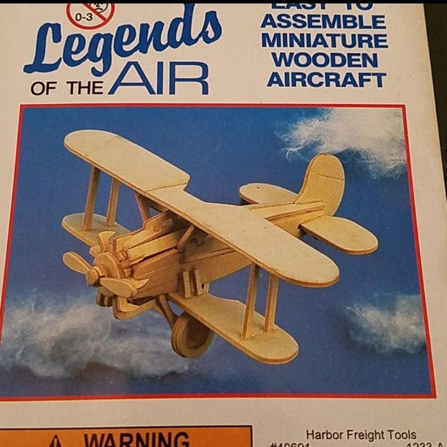 3D Wooden Bristol Bulldog Airplane Puzzl