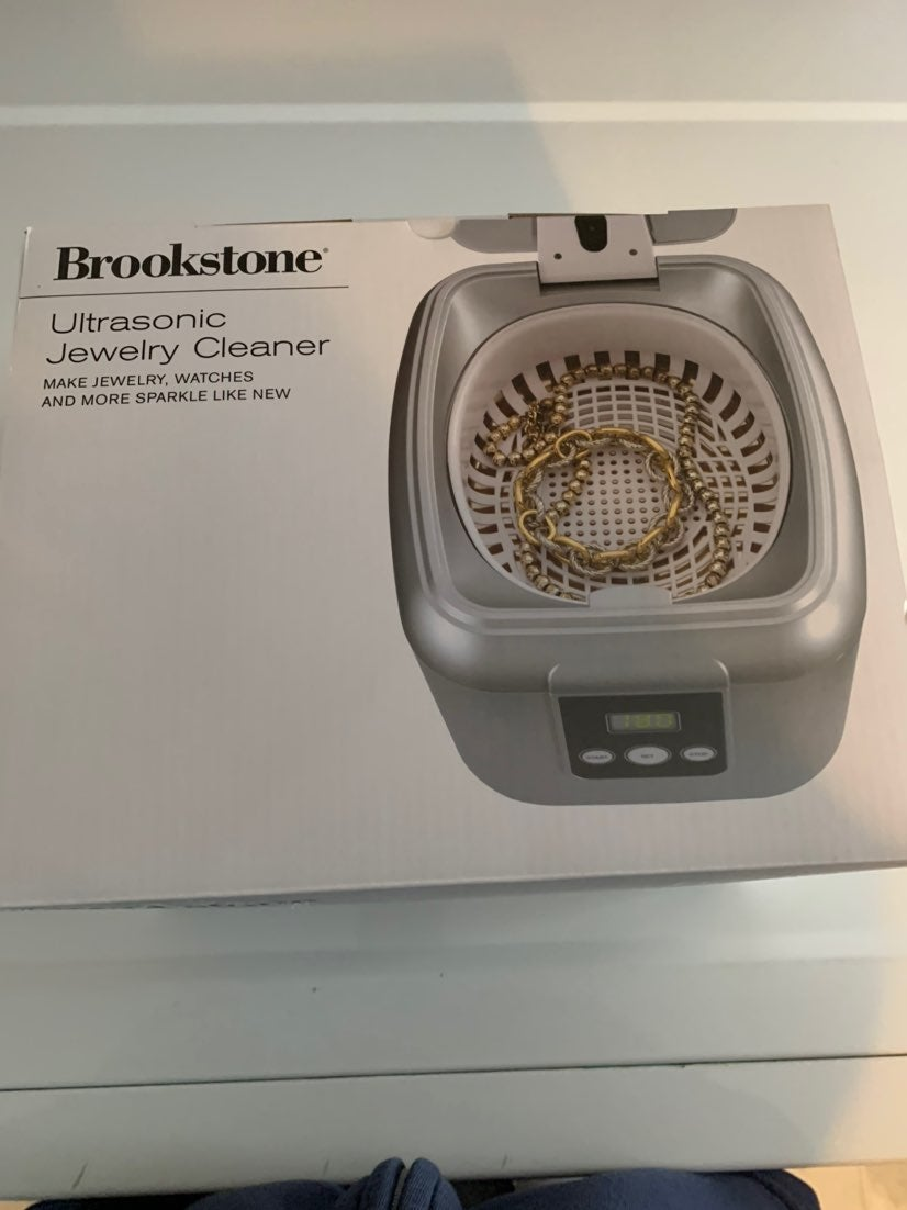 Brookstone Jewelry Cleaner