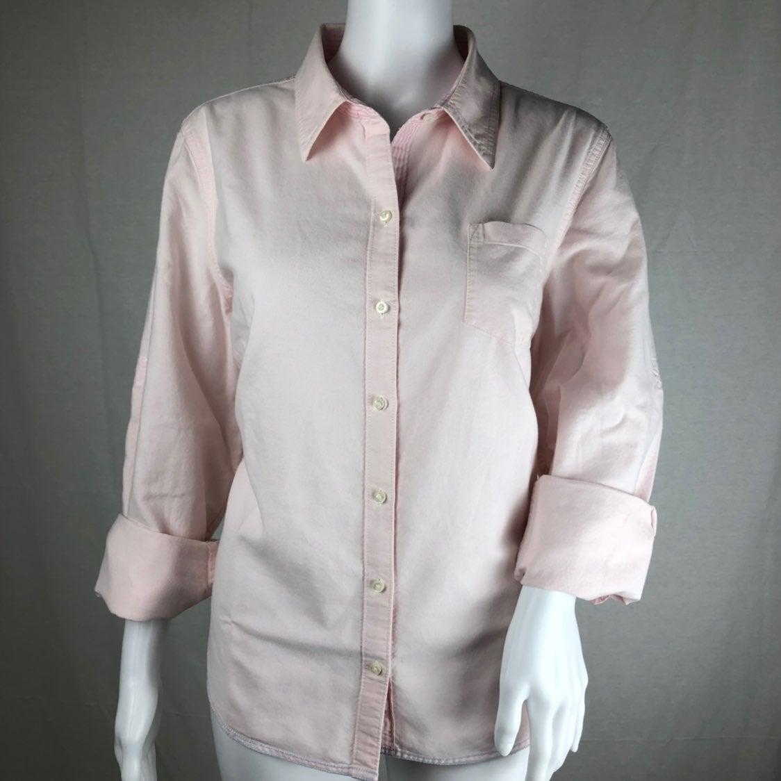 Tommy Hilfiger Pale Pink Button Down