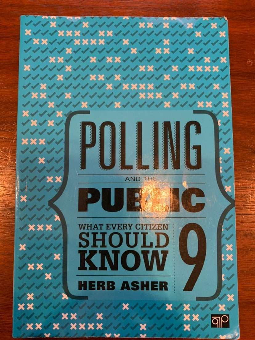 Polling and the Public; Asher, Herb; 9th
