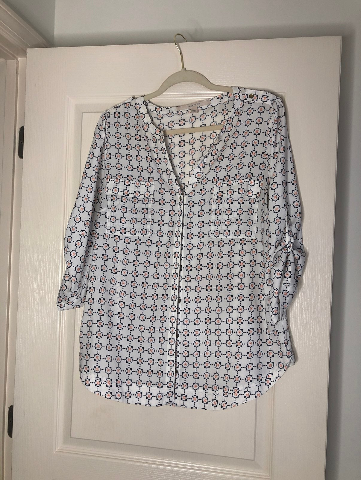 41Hawthorn Quarter sleeve Blouse for wom