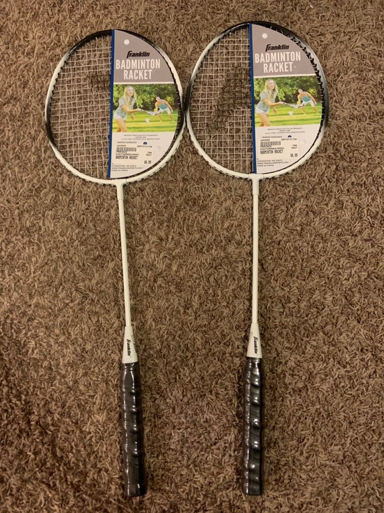 2 Franklin Badminton Rackets