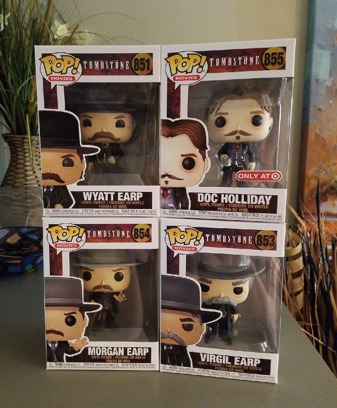 Funko pop Lot (Tombstone)