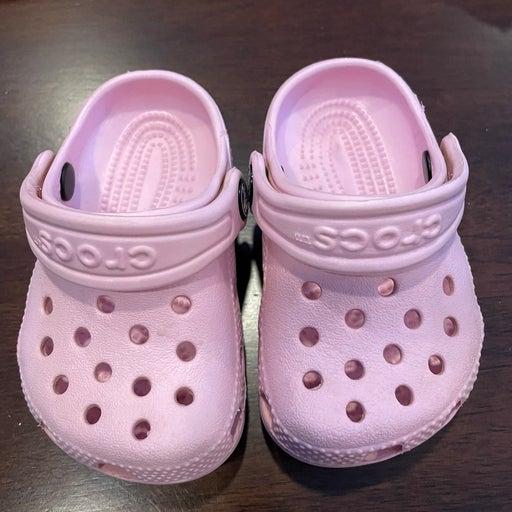 Baby Girl's Crocs Size 2