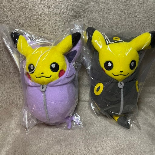 "6"" Pikachu Nebukuro Umbreon Espeon Plush"