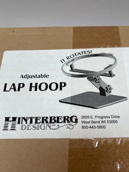 """Hinterberg NWB Adjustable 14"""" Lap Hoop"""