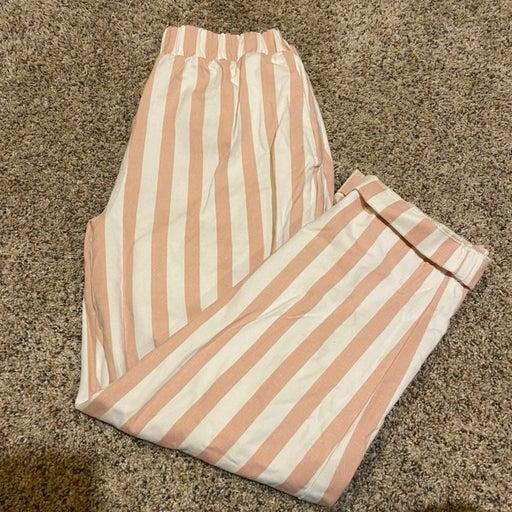 Striped Boyfriend Pants