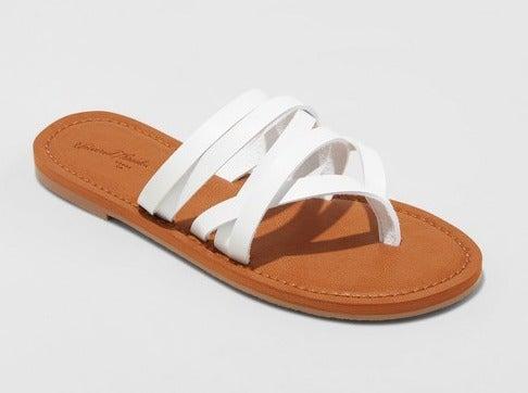 "NWT ""Maritza"" Multi-Strap Sandals 6"