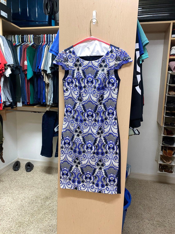 NWOT Antonio Melani Lace Sheath Dress 0