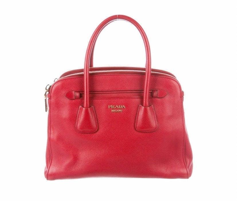 Prada Saffiano top handle bag