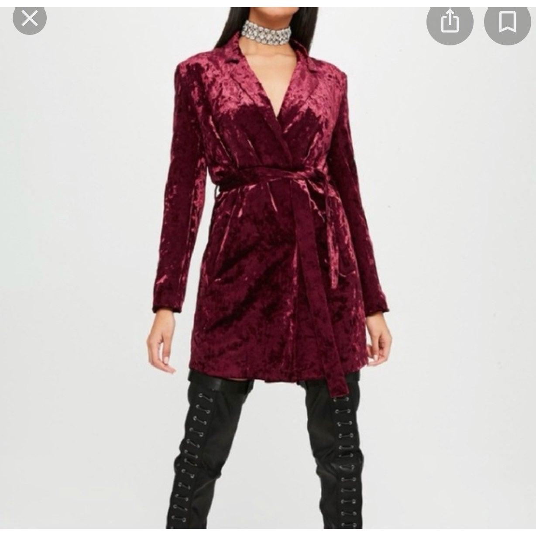 Carli bybel x misguided wrap dress