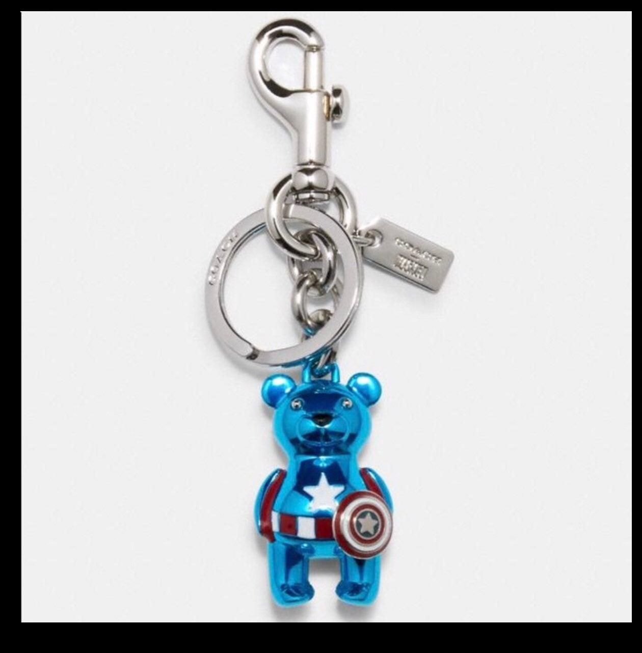 Coach Marvel Captain America Bear