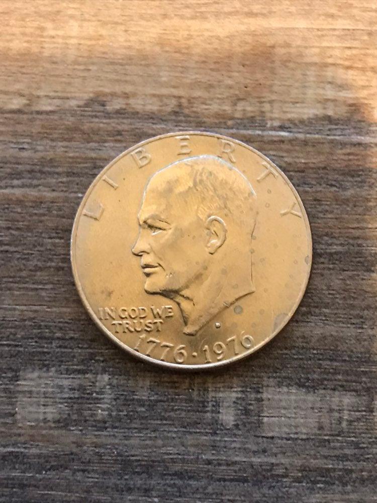 1776-1976 silver dollar D mint