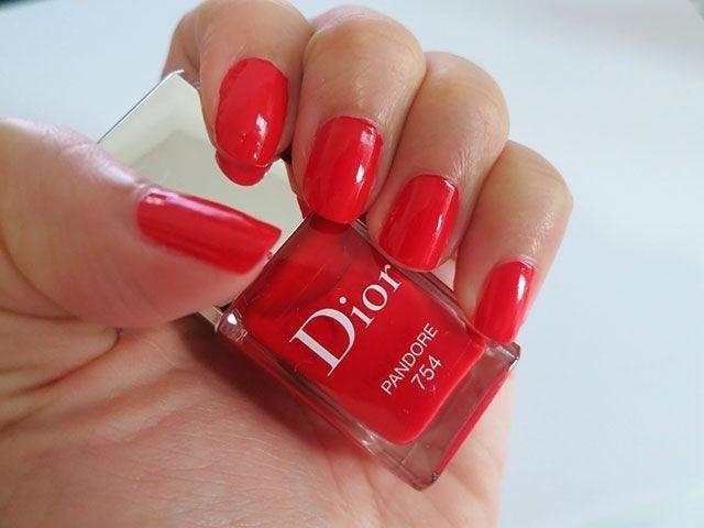 Dior Nail Polish PANDORE 754