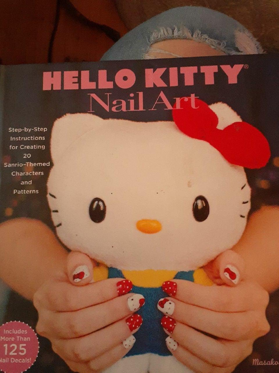 Hello Kitty nail art book