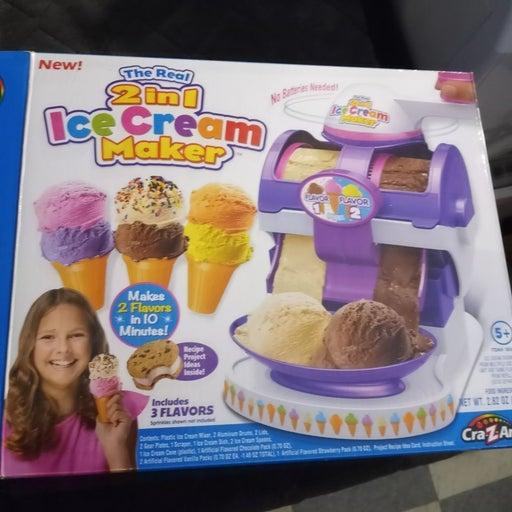 2 In 1 Ice Cream Maker