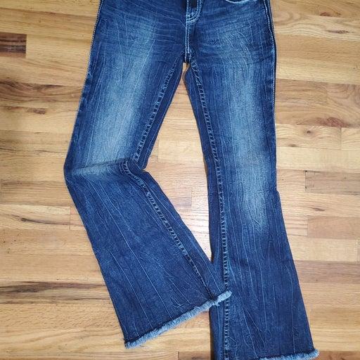 Cowgirl TUFF Hurricane flare jeans 28x33