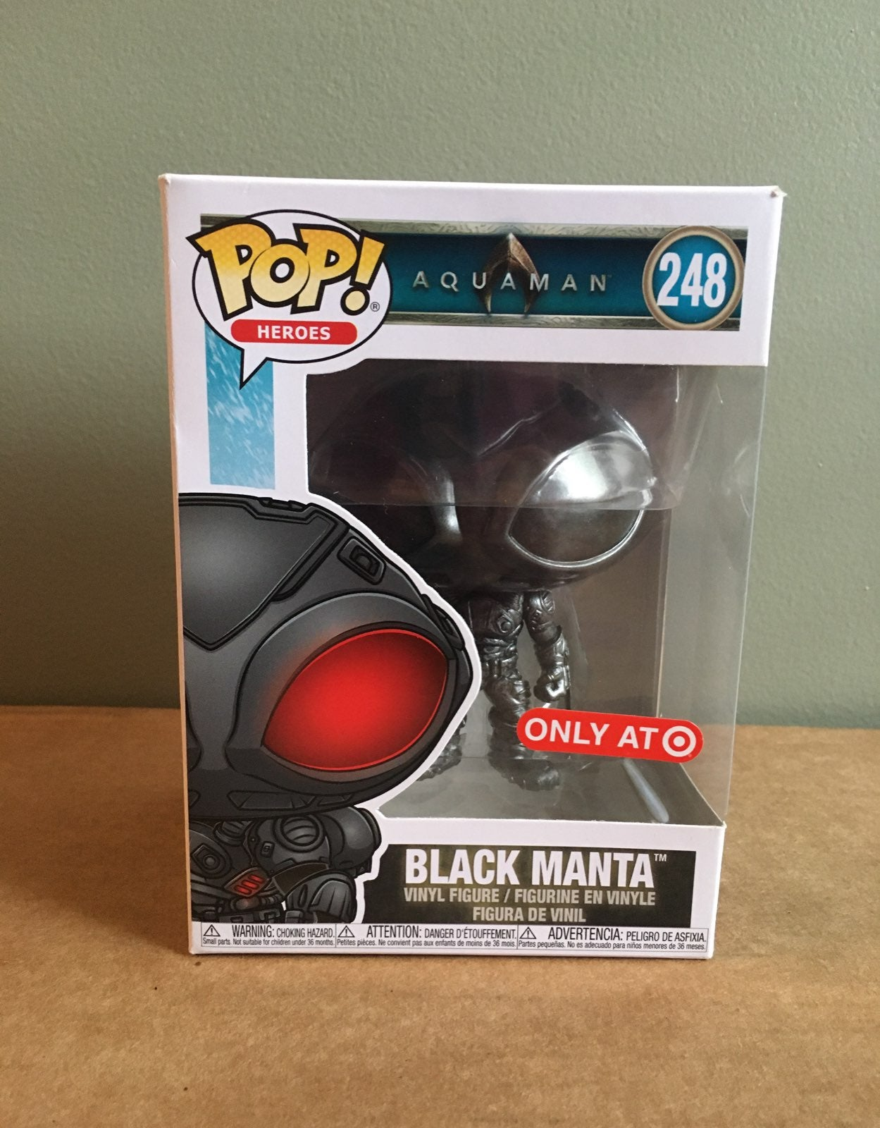 Funko Pop Aquaman BLACK MANTA 248