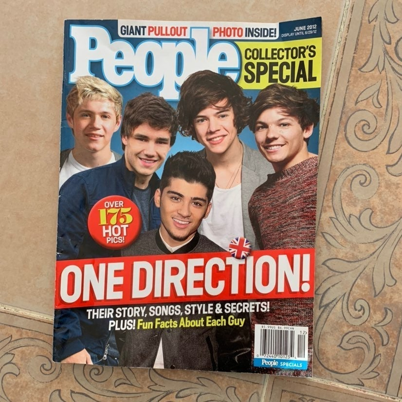 One Direction June 2012 People Magazine