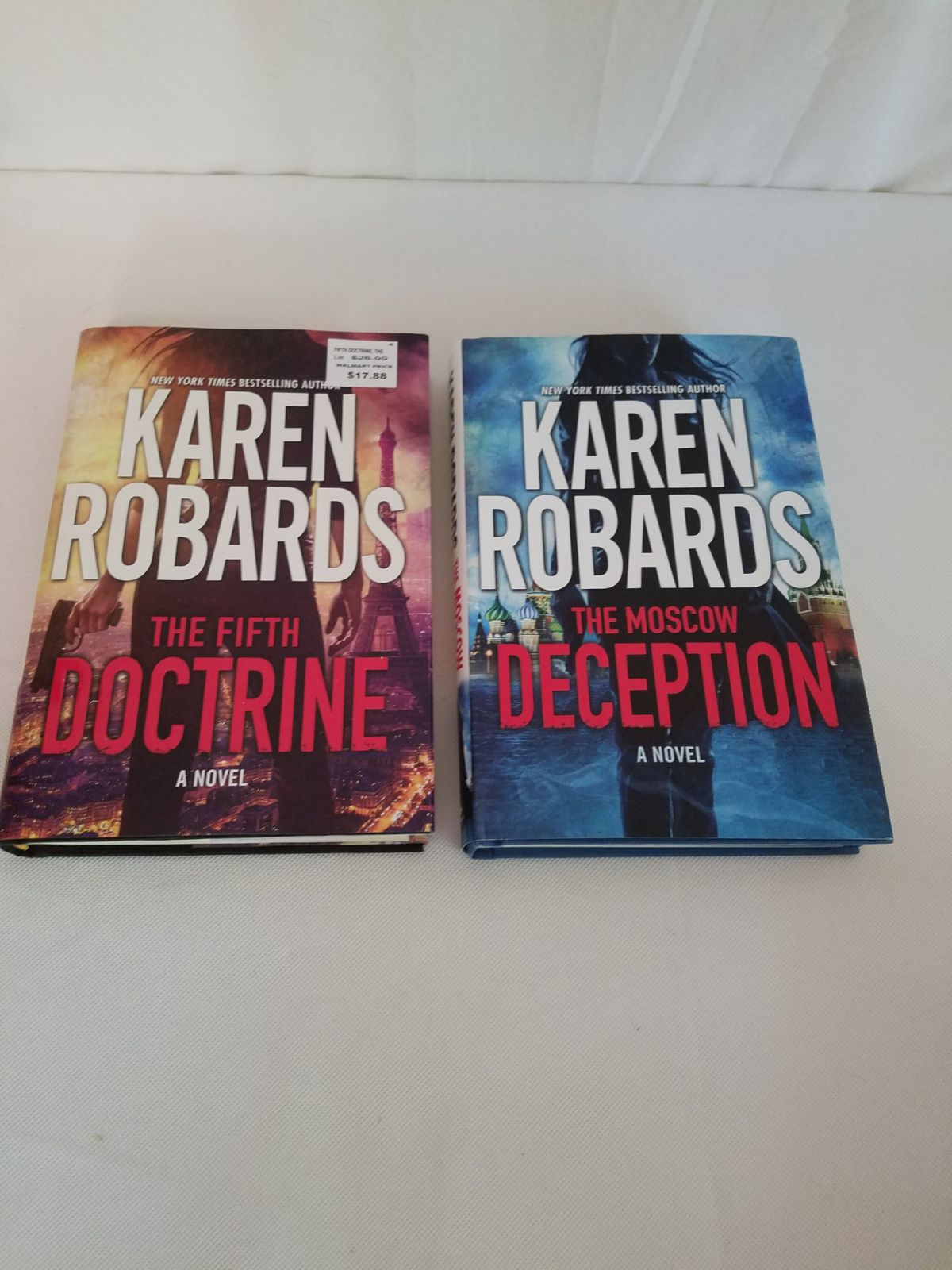 2 Karen Roberts Novels The Fifth Doctrin