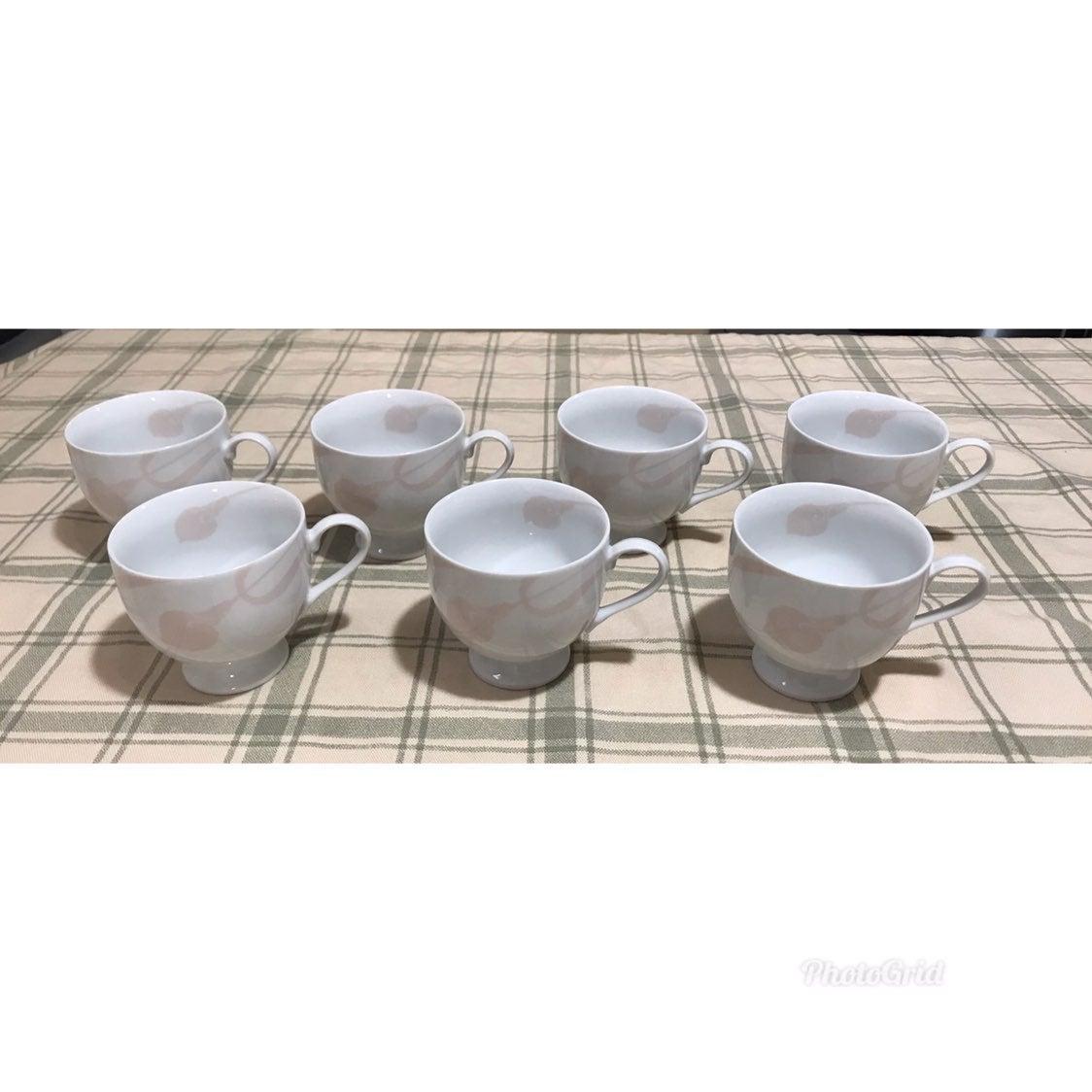 7 Mikasa Fine China Cups