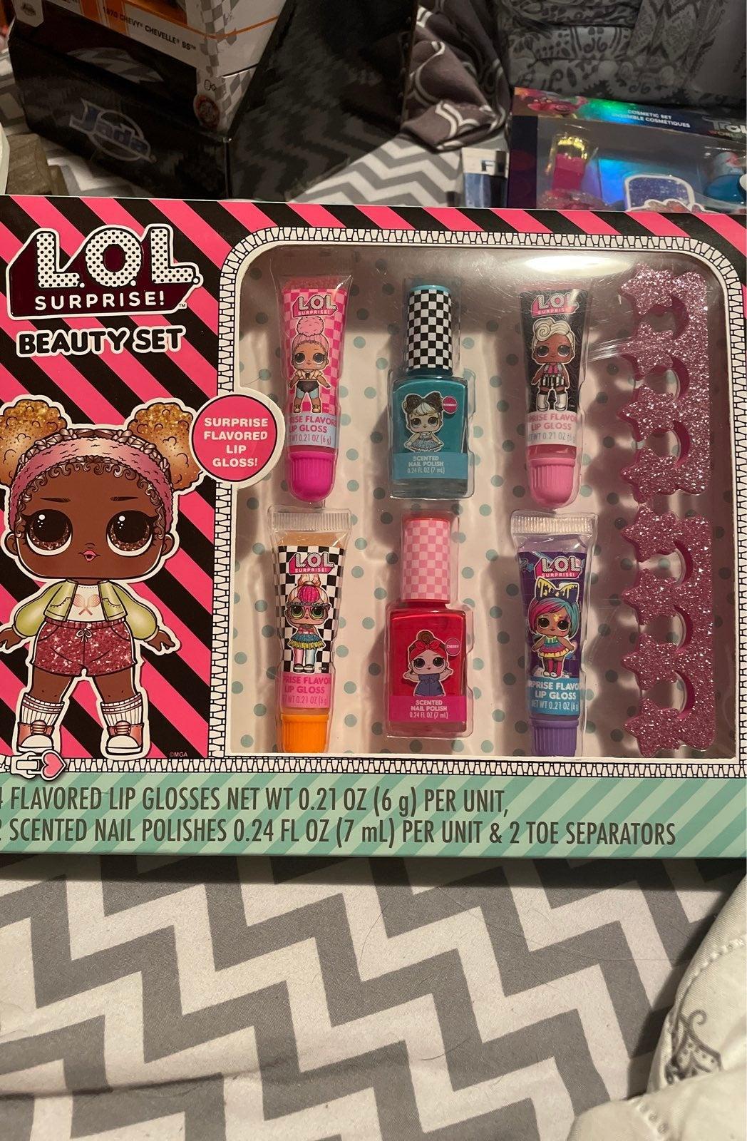 LOL Surprise beauty set
