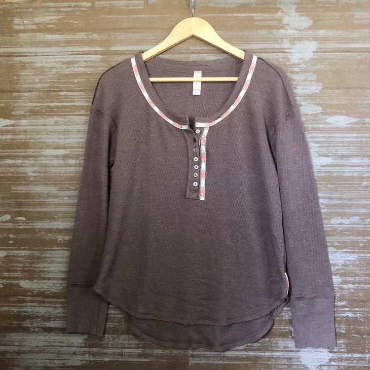 Altar'd State Embroidered Thermal Top