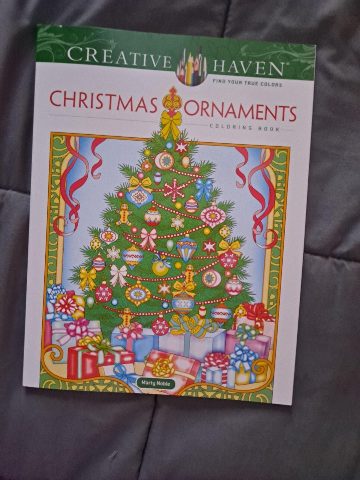 Creative ornaments coloring book