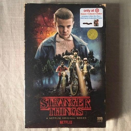 Stranger Things Season 1 Blu-Ray Lim Edi